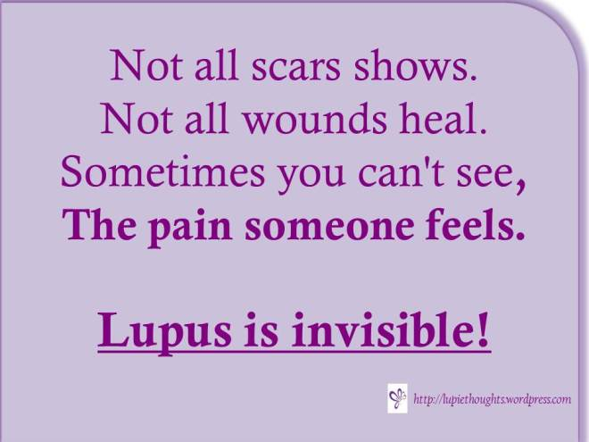 Lupus – If your loved one has Lupus | Lupie Thoughts... | Page 2